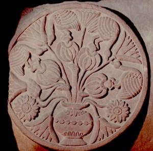 Naissance du Bouddha.Bharhut.Ier s. BC.Mus.Calcutta