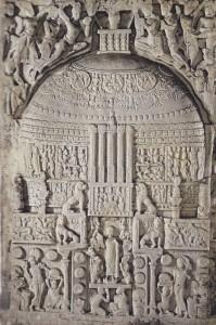 Stupa.Fin du IIe s.apr.J.C.British Museum