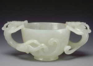 1.Cut in white jade. China, Ming period (1368-1644), © Guimet National Museum of Asian Arts collection