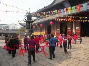 Fête au Temple du Mystère.Suzhou.©celinechine.blogspot