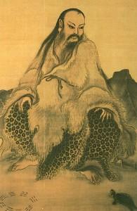 Fuxi et la tortue.Ma-Lin