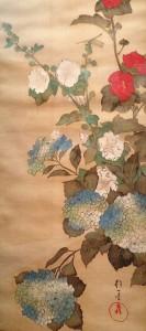 Sakai Hôitsu 2.Fleurs et oiseaux.5e mois
