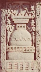 Stupa.Torana.Stupa 3.Ier s.B.C.Sanchi