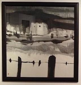 2.Le Château.1992.Encre sur papier