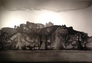 6.3.La Montagne de l'âme.2012.Huile sur toile.240x350cm