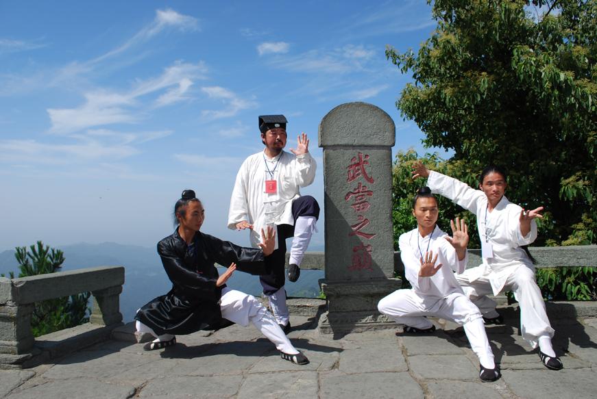 4.taijiquan au wudangshan