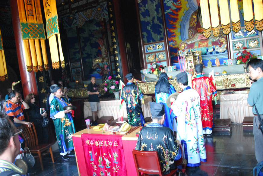 6. ceremonie Zhengyi au Wudangshan