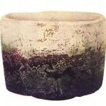 16.02.29.White Raku teabowl Fuji-san (