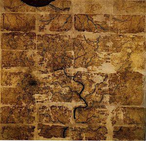 16-09-14-carte-royaumes-de-changsha-et-nanyue-han-mawangdui-soie-tombe-3